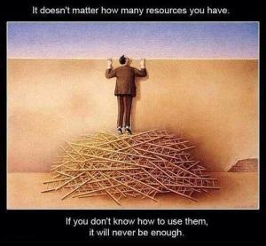 No importa las herramientas que tengas